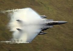 CLOUDY (Dafydd RJ Phillips) Tags: ln202 lakenheath afb air force base united states usaf loop mach humidity fluff low level f15 f15e strike eagle