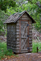 Have you ever used one of these? (ucumari photography) Tags: ucumariphotography outhouse bathroom keybiscayne florida fl august 2018 dsc7661