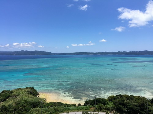 View of the water from Kouri Ocean Tower