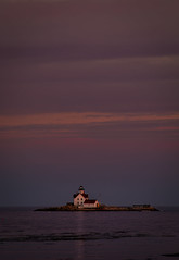 Transition of Light - Cuckolds Lighthouse, Southport Maine (John Clay173) Tags: newengland ocean sunset pier bay me midcoastregion maine jclay lighthouse
