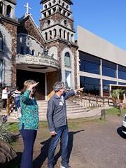 08/09/18 - Visita à Imbé e Osório com Fofonka, candidato a deputado estadual. Visitando a Capela Santa Rita de Cássia.