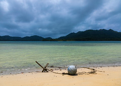 Anchor on Kabira bay inner beach, Yaeyama Islands, Ishigaki-jima, Japan (Eric Lafforgue) Tags: anchor asia beach beautyinnature cloudy colorimage day destination horizontal idyllic ishigaki ishigakijima japan japan18386 landscape nature nopeople okinawahonto okinawaprefecture outdoors pacificislands pacificocean sand scenic scenics sea storm summer tourism tranquilscene travel traveldestinations tropicalclimate vacations water yaeyamaislands