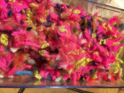 yarn scraps for yarn bowl