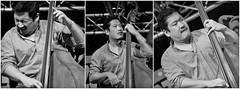 Yasushi Nakamura (b) Joe Lovano & Dave Douglas Quintet, Gouvy Jazz & Blues festival, Belgium (claude lina) Tags: claudelina gouvy belgium sterpigny gouvyjazzfestival fermedelamadelonne musique musicien jazz concert instruments joelovanodavedouglasquintet yasushinakamura bass contrebasse