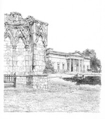 St Mary's Abbey and Yorkshire Museum, Museum Gardens, York