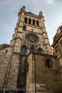 Cathédrale Saint Pierre. Genève