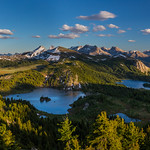 Rock Isle Lake, Sunshine Meadows, Banff National Park, AB & Mount Assiniboine Provincial Park, BC, Canada thumbnail