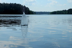 DSCF4647(1) (paku_) Tags: augustów krajobraz natura woda water lake drop clear rock