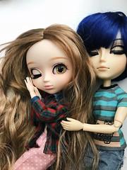 sleepy babies - pullip kiyomi and taeyang kaito (angelwxngs) Tags: jane avajane ava jonathan vocaloid groove junplanning planning jun jp bearyfairy fairy beary kiyomi taeyang shion kaitoshion kaito dolls doll pullip