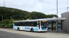 Scarborough park and ride (Hesterjenna Photography) Tags: goahead eastyorkshire eastyorkshiremotorservices eyms scarborough scarboroughand district plaxton centro volvo parkandride bus psv coach yx58dcf