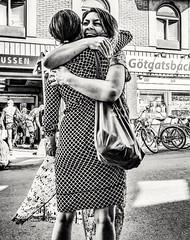 Friends... (mikeback-streetphotography) Tags: streetstyle streetphotographer stockholm streetarteverywhere streetportrait streetphotographystreet streetlife streetphoto streetartistry streetphotography streetart street urban bnw blackwhite black blackandwhite blackandwhitephotography monochromatic monochrome mono