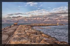 IL MOLO HDR SAN BENEDETTO DEL TRONTO... (zagor64.) Tags: molo sud san benedetto nuvole cielo mare colori spettacolo