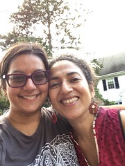 with Arati (olive witch) Tags: 2018 abeerhoque day fem outdoors pair philadelphia philly sep18 september