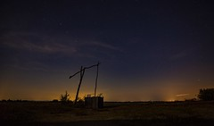 Puszta by night (tottiatti) Tags: stars night ursa major ursamajor shadoof plain puszta