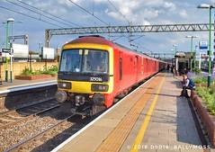 325016, Willesden - Shieldmuir mail train, 31/08/18 (Greg Larkman Photo) Tags: class325 325 mailtrain royalmail britishrailways