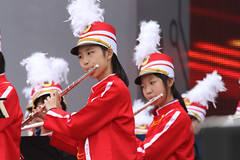 IMGL4170 (taticoma) Tags: brassband brass music musician child china red school teenage girl girls flute flutist