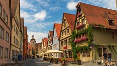 Cityscape Rothenburg ob der Tauber D 1.)1806-3591 (dironzafrancesco) Tags: tamron slta99v sony reise rothenburgobdertauberd lightroomcc clouds tamronsp2470mmf28diusd sky rothenburgobdertauber bayern deutschland de