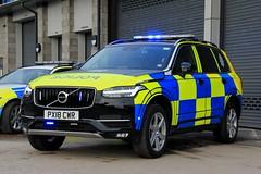 Cumbria Police Volvo XC90 Armed Response Vehicle (PFB-999) Tags: cumbria police volvo xc90 4x4 armed response vehicle car unit arv firearms lightbar grilles fendoffs leds px18cwr