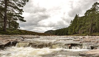 Waterfalls on the Dee