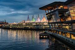 Vancouver harbour (Aldenhoven) Tags: vancouver harbour evening nightlights