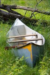 Kanot (silwermannen) Tags: canoe forrest sweden nikon 7100