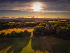 Light and shadow. (Darren Flinders) Tags: rotherham england unitedkingdom gb hooberstand sunset rotherhamdistrict hdr photomatix britishcountryside summertime englishsummer yorkshire southyorkshire wentworth wentworthpark warm dronephotography drone djiphantom4