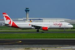 C-FYXF (Air Canada - rouge) (Steelhead 2010) Tags: aircanada airbus a321200 a321 creg yyz rouge cfyxf