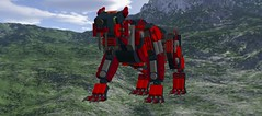 N980NGB0xSmilodonxMech3 (demitriusgaouette9991) Tags: lego military army future ldd armored deadly powerful runner mecha
