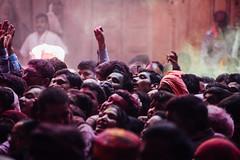 Peering At Idols in Shri Banke Bihari Mandir (AdamCohn) Tags: abeer adamcohn bankebiharimandir hindu india shribankeybiharimandir vrindavan gulal holi pilgrim pilgrimage अबीर गुलाल होली