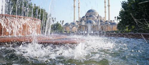 Chechnya's Main Mosque - Grozny, Chechen Republic