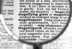 Magnifying glass (Jeff Derbys) Tags: macromondays glass