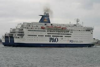 Pride Of Le Havre, Portsmouth, September 26th 2004