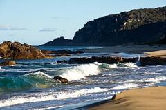 Sun and shadows (jack eastlake) Tags: wildbeachaus rips dangerous surfing seascape bunga beach south waves strong rocky mimosa rocks national park