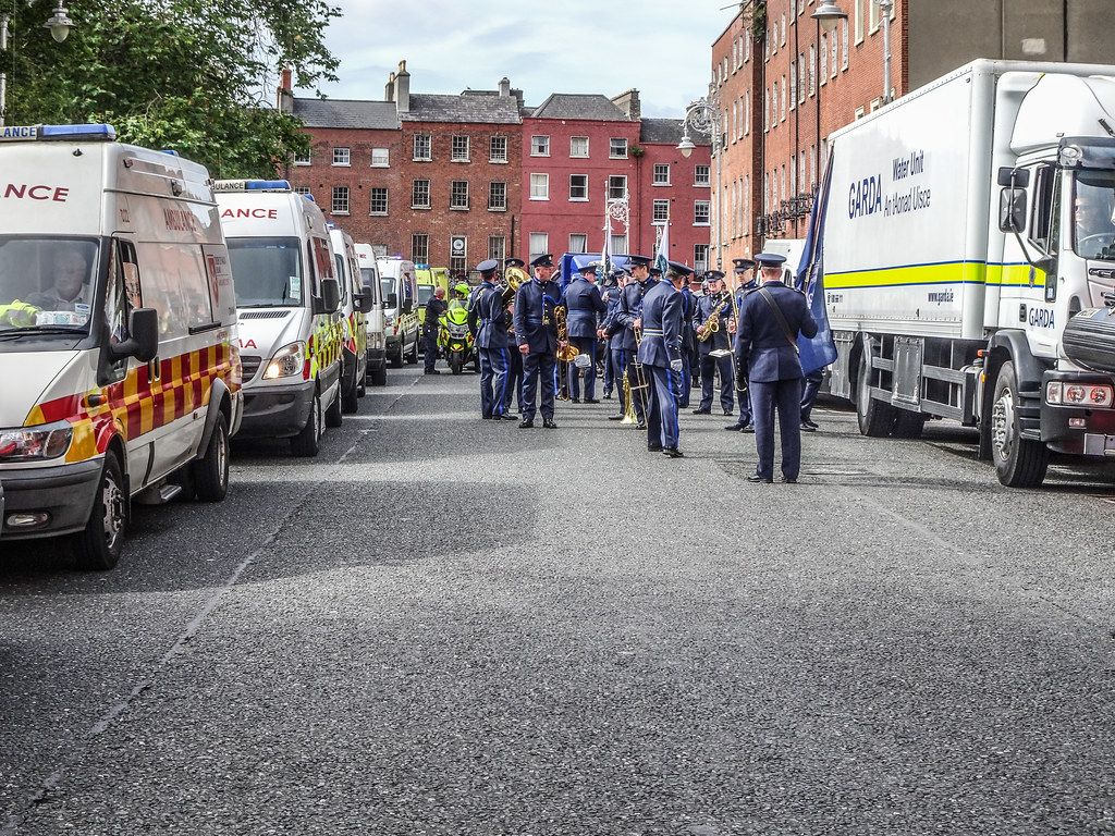 NATIONAL SERVICES DAY [PARADE STARTED OFF FROM NORTH PARNELL SQUARE]-143650