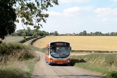 Centrebus 748 1300hrs Crantham to Stamford 010918 (return2layerroad) Tags: centrebus garntham stamford burtonlecoggles scaniak230ub wright b6wer yn08mro lincolnshire
