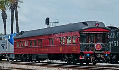 2016-05-01 Fullerton CA SOO Cyrus K Holliday (maximaguy97) Tags: train railroad passengercar sooline cyruskholliday privatecar privatevarnish fullerton california fullertonrailroaddays pacificsurfliner