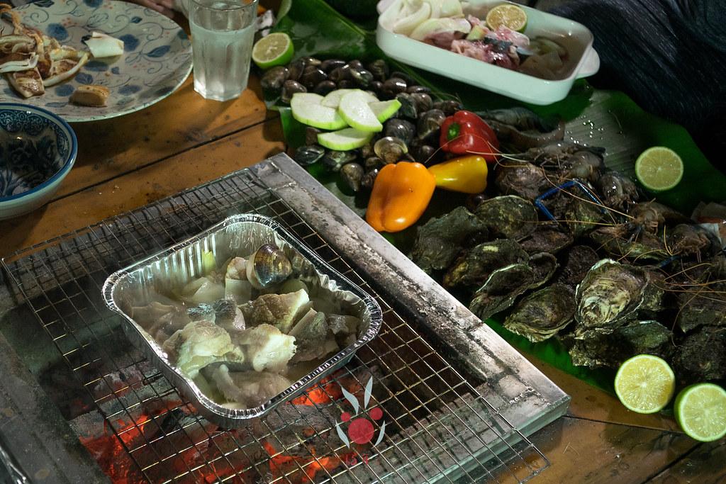 最奢華的中秋烤肉組 海鮮大集合之 龍膽石斑、泰國蝦、蚵、大卷 |小農聯盟26