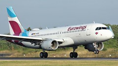 D-AIZS (AnDyMHoLdEn) Tags: eurowings a320 lufthansagroup staralliance egcc airport manchester manchesterairport 05r