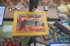 Antique game Rope-Ring Toss or Deck Quoits (quinet) Tags: 2017 antik canada mapleridge ancien antique museum musée vancouver britishcolumbia 124