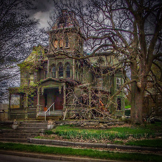 Palatine Bridge New York ~ Webster Wagner House ~ Second Empire  Architecture
