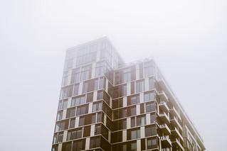 Misty Building