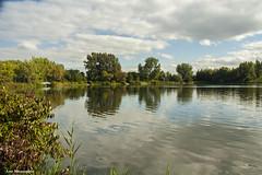 lake at des rapides (Lou Musacchio) Tags: landscape waterscape urbanscenic water clouds sky parcdesrapides villelasalle montreal quebec canada