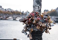 Locked In (Ali Sabbagh) Tags: paris france bridge locks love lock colors canon eos7d wallpaper desktop souvenir memory