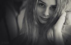 Cutie (RickB500) Tags: portrait girl rickb rickb500 model beauty expression face cute hair