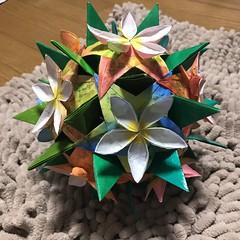 I think of Rota and Guam..... (kz_miu910) Tags: 종이접기 折纸 摺紙 おりがみ 折り紙 origamikusudama kusudama origami