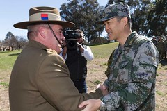 Top Chinese Army officer assures Australia free navigation in South China Sea 'never a problem' (Hsnews.us) Tags: army assures australia australianarmy china chinese colonelwang free military navigation navy officer pandaroo problem sea south southchinasea top vietnam