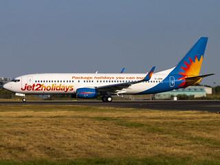Jet2 Holidays | Boeing 737-8MG(WL) | G-JZHK