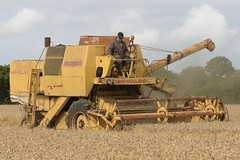 New Holland 1545 Combine Harvester cutting Winter Wheat (Shane Casey CK25) Tags: new holland 1545 combine harvester cutting winter nh cnh yellow sperry vintage casenewholland newholland wheat grain harvest grain2018 grain18 harvest2018 harvest18 corn2018 corn crop tillage crops cereal cereals golden straw dust chaff county cork ireland irish farm farmer farming agri agriculture contractor field ground soil earth work working horse power horsepower hp pull pulling cut knife blade blades machine machinery collect collecting mähdrescher cosechadora moissonneusebatteuse kombajny zbożowe kombajn maaidorser mietitrebbia nikon d7200