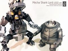 Mecha Shark Lord02 (danielhuang0616) Tags: momoco shark mecha lord lego 2018 moc gun metal