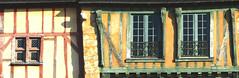 Tour de France – Maison médiévale du Mans (Le.Patou) Tags: france pays de la loire sarthe le mans old town vieille ville médiéval historique rempart historic wall city cityscape cityview house studwood stud ochre fz1000